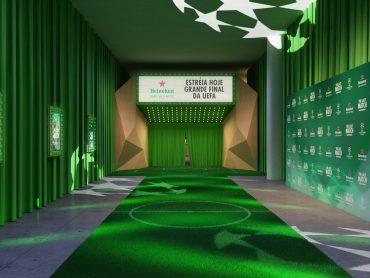 Heineken – Pela 1ª vez uma Orquestra toca ao vivo sonorizando uma partida